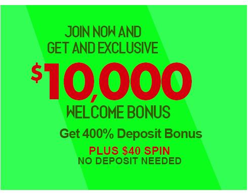 $10,000 Welcome Bonus