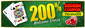 200% Welcome Bonus