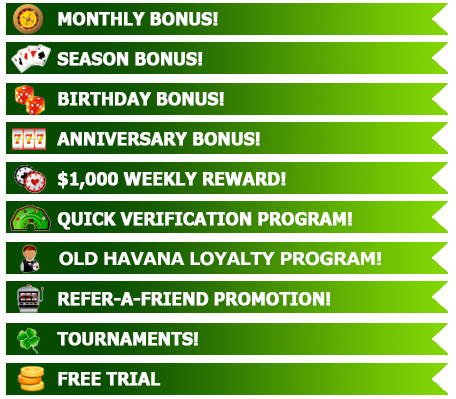 Bonus and Promotions for EXISTING Players